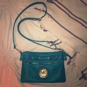 MK blue purse